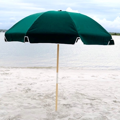 Image of: Beach Umbrella With Resort Style 75u2032 Beach Umbrella
