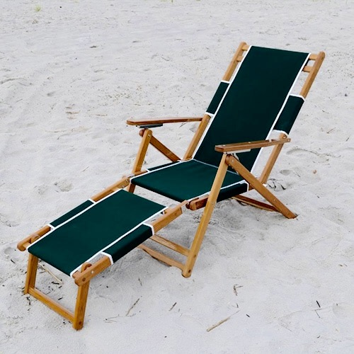 Resort Style Wooden Beach Chair