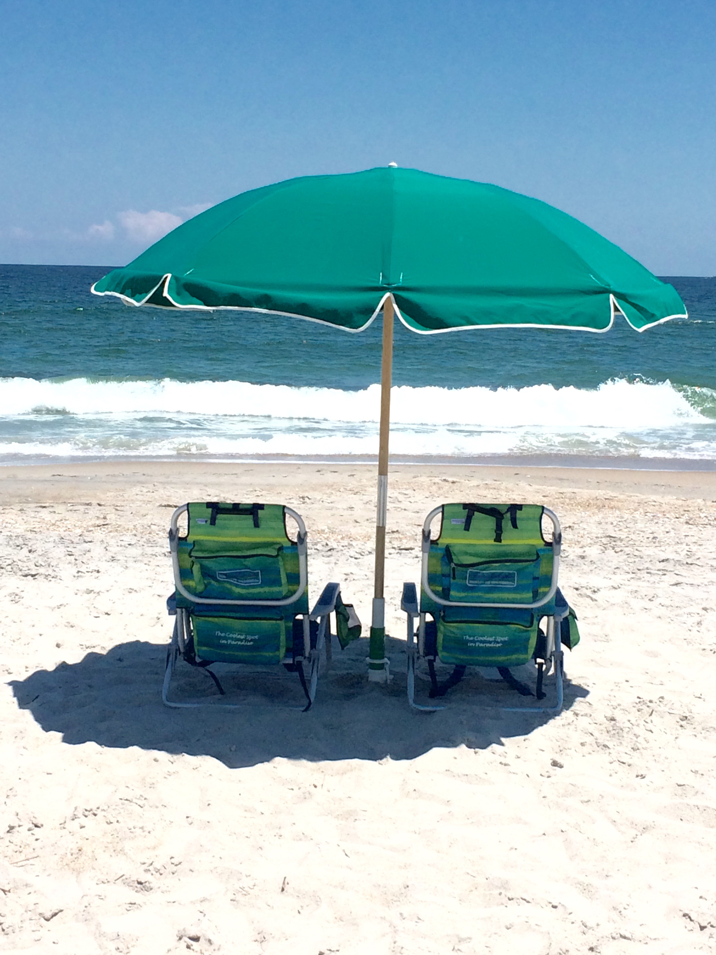 Backpack Beach Set Wrightsville Beach Chair Umbrella & Cabana