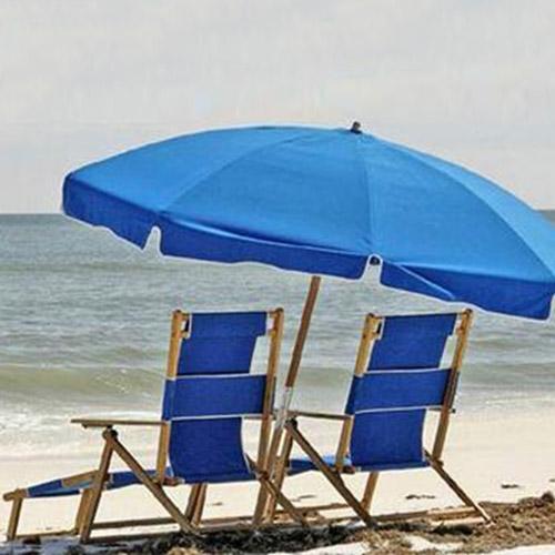 Resort Style Chair Umbrella Set2